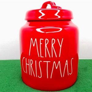 🎄🍪 Rae Dunn Large Merry Christmas Cookie Jar